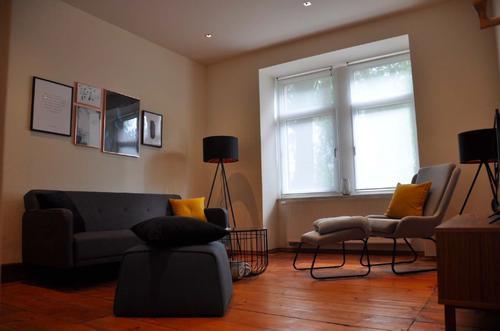 Traumhafte möblierte 2-Zimmer Altbauwohnung in FFM Nordend - Bestlage - Frankfurt am Main